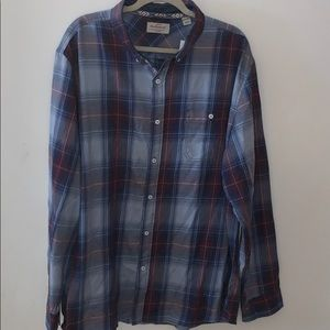 Weatherproof vintage men's button up shirt 3X
